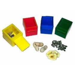 4 cubes de couleurs