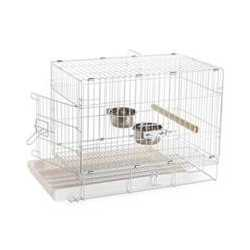 Cage transport pliable