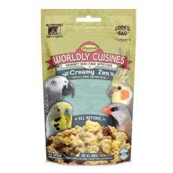 Worldly cuisines Creamy zen