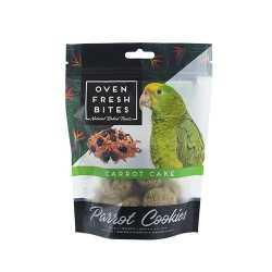 Parrot cookies carrot cake