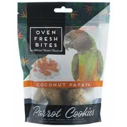 Parrot cookies Coconut Papaya