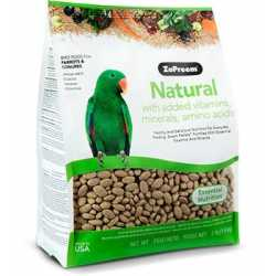 Zupreem Natural parrot and...